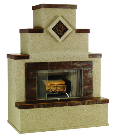 Bull Wood Burning Fireplace